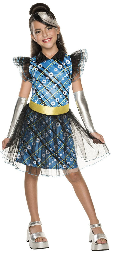 Girls Monster High Frankie Stein Costume - HalloweenCostumes4U.com - Kids Costumes