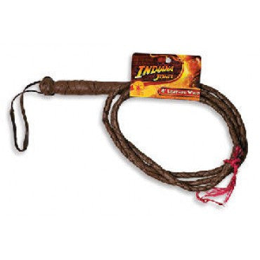 Indiana Jones Leather Whip - HalloweenCostumes4U.com - Accessories