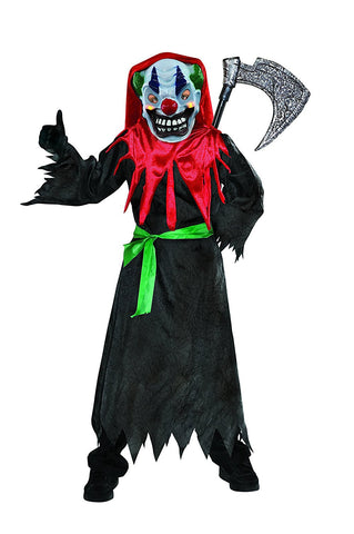 Boys Crazy Clown Costume
