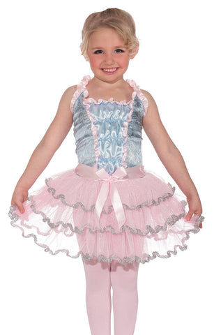 Girls Deluxe Ballerina Princess Costume - HalloweenCostumes4U.com - Kids Costumes