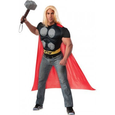 Mens Avengers Thor Muscle Chest Shirt - HalloweenCostumes4U.com - Adult Costumes