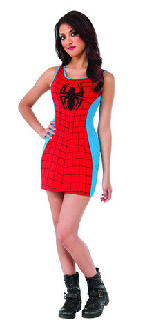 Spider-Girl Tank Dress - HalloweenCostumes4U.com - Adult Costumes