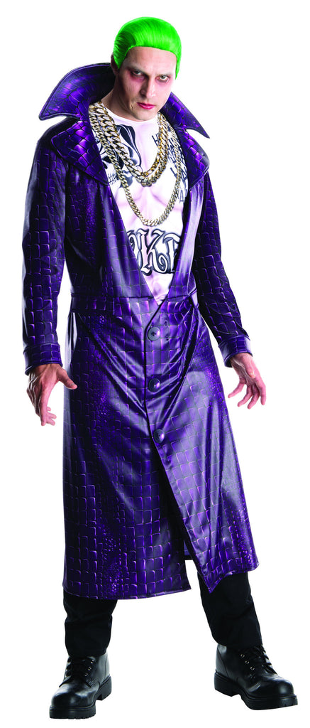 Mens Batman Deluxe Joker Costume - HalloweenCostumes4U.com - Adult Costumes
