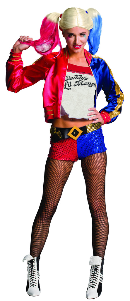 Womens Batman Harley Quinn Costume - HalloweenCostumes4U.com - Adult Costumes