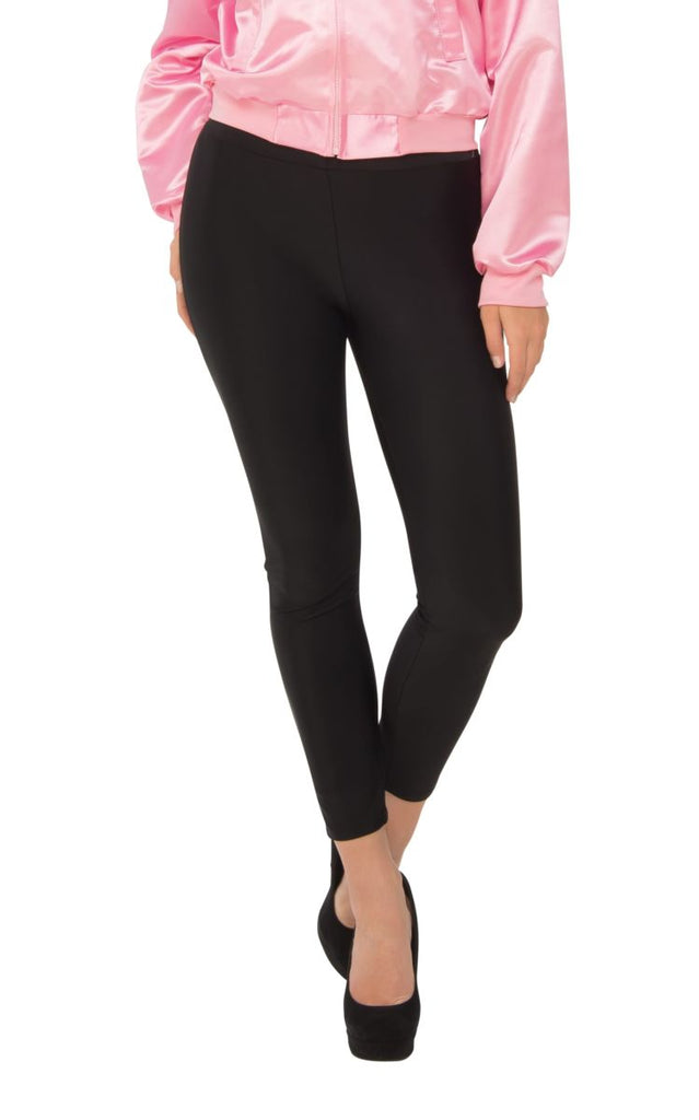 Womens Black Stretch Leggings