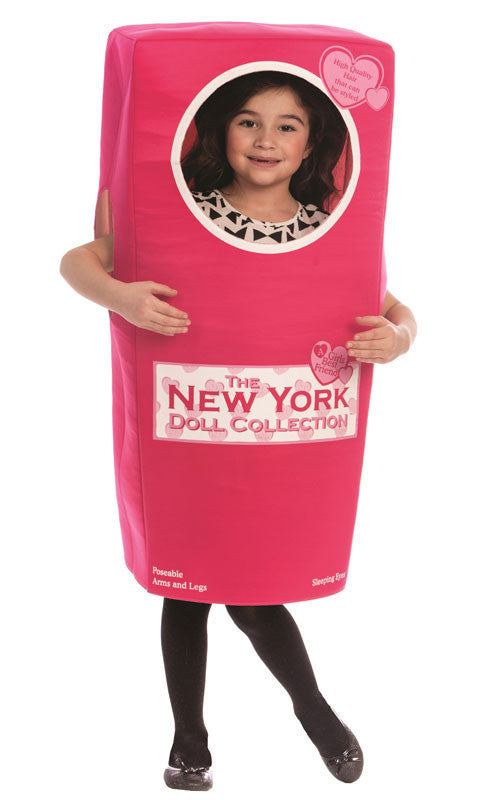 Girls New York Doll Box Costume - HalloweenCostumes4U.com - Kids Costumes