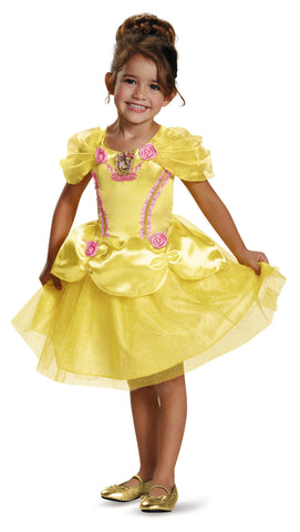 Girls Disney Princess Belle Costume - HalloweenCostumes4U.com - Kids Costumes