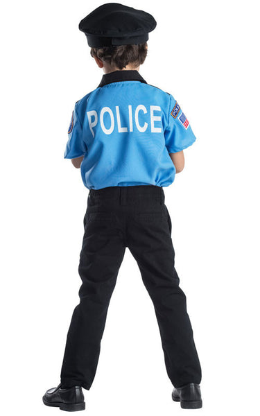 Kids Police Chief Costume - HalloweenCostumes4U.com - Kids Costumes - 2