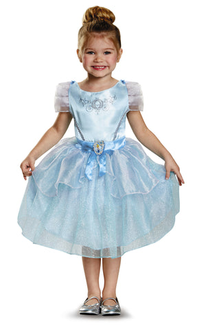Girls Disney Princess Cinderella Costume - HalloweenCostumes4U.com - Kids Costumes
