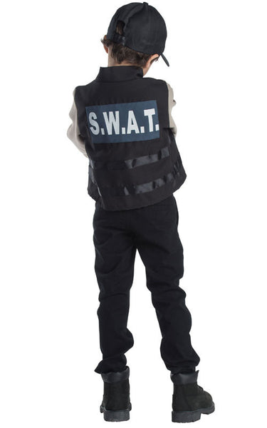 Boys SWAT Team Dress Up Set - HalloweenCostumes4U.com - Kids Costumes - 2