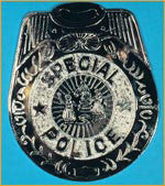 Jumbo Police Badge - HalloweenCostumes4U.com - Accessories