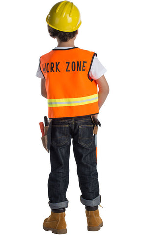 Boys Construction Worker Dress Up Set - HalloweenCostumes4U.com - Kids Costumes - 2