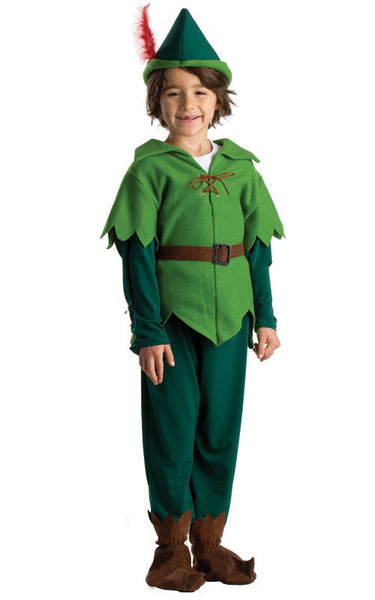 Boys Peter Pan Costume - HalloweenCostumes4U.com - Kids Costumes - 1