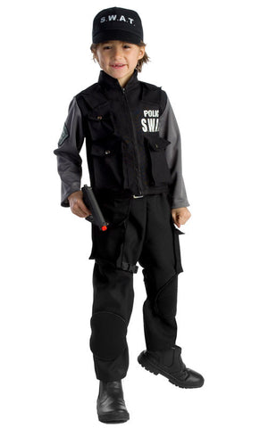 Boys SWAT Team Costume - HalloweenCostumes4U.com - Kids Costumes