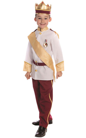 Boys Royal Prince Costume - HalloweenCostumes4U.com - Kids Costumes