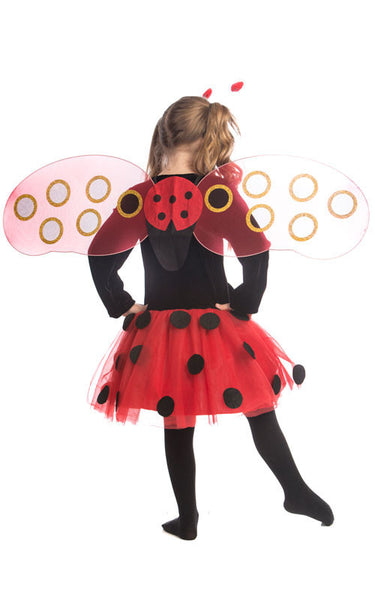 Girls Ladybug Costume - HalloweenCostumes4U.com - Kids Costumes - 2