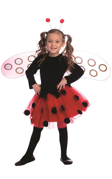 Girls Ladybug Costume - HalloweenCostumes4U.com - Kids Costumes - 1