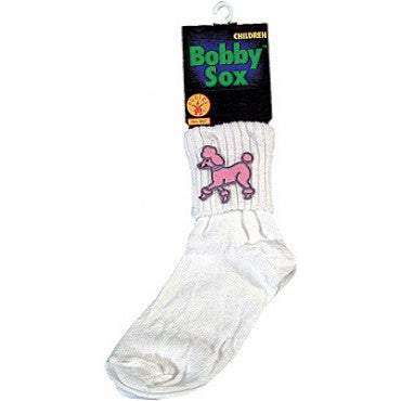 Kids Poodle Bobby Sox - HalloweenCostumes4U.com - Accessories