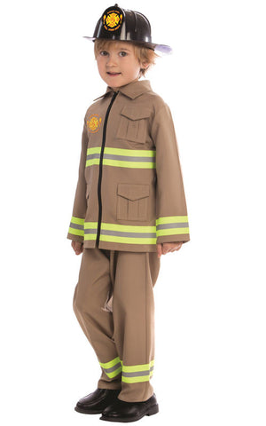 Kids Firefighter Costume - HalloweenCostumes4U.com - Kids Costumes