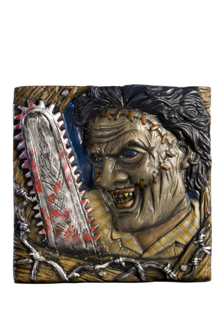 Texas Chainsaw Massacre Leatherface Wall Mount - HalloweenCostumes4U.com - Decorations
