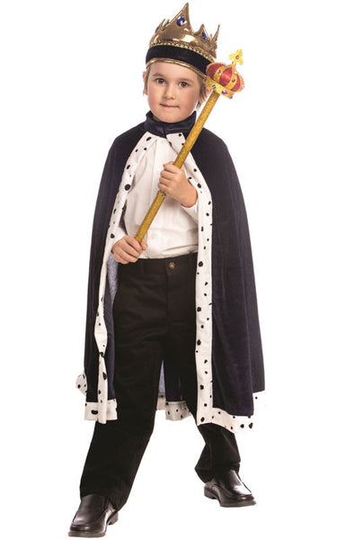 King's Robe & Crown Set - Various Colors - HalloweenCostumes4U.com - Accessories - 2