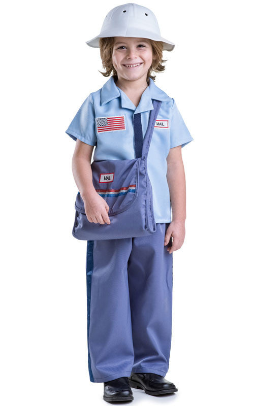Kids Mail Carrier Costume - HalloweenCostumes4U.com - Kids Costumes