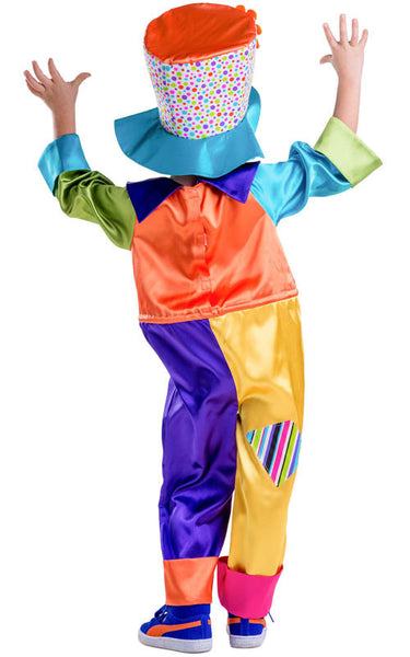 Girls Circus Clown Costume - HalloweenCostumes4U.com - Kids Costumes - 2