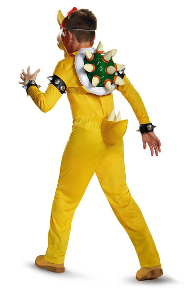 Boys Deluxe Bowser Costume - HalloweenCostumes4U.com - Kids Costumes - 2