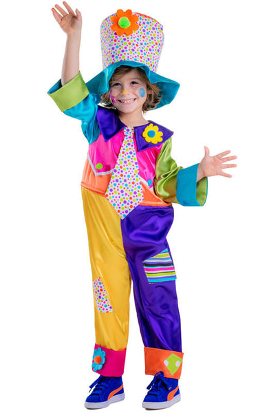 Girls Circus Clown Costume - HalloweenCostumes4U.com - Kids Costumes - 1