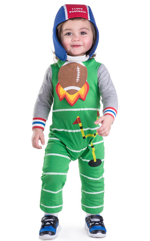 Infants/Toddlers Football Baby Costume - HalloweenCostumes4U.com - Infant & Toddler Costumes