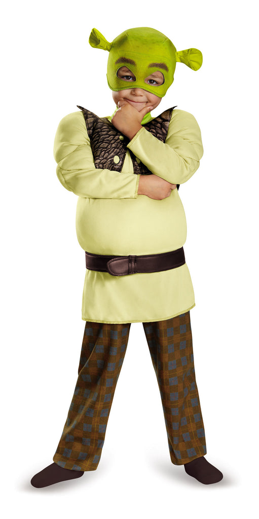 Toddlers Deluxe Shrek Costume - HalloweenCostumes4U.com - Infant & Toddler Costumes - 1