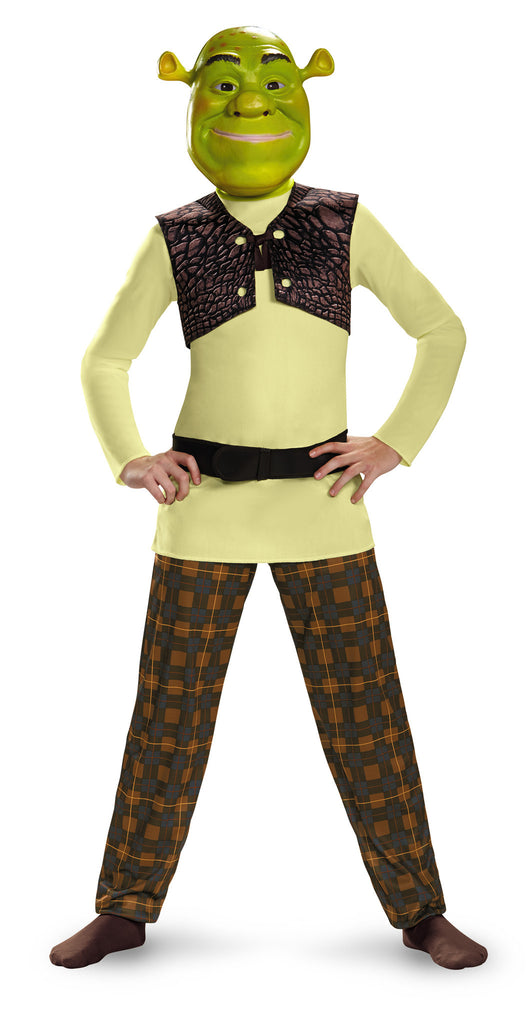 Boys Shrek Costume - HalloweenCostumes4U.com - Kids Costumes