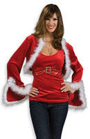 Womens Hoiday Jingle Bell Shrug - HalloweenCostumes4U.com - Adult Costumes