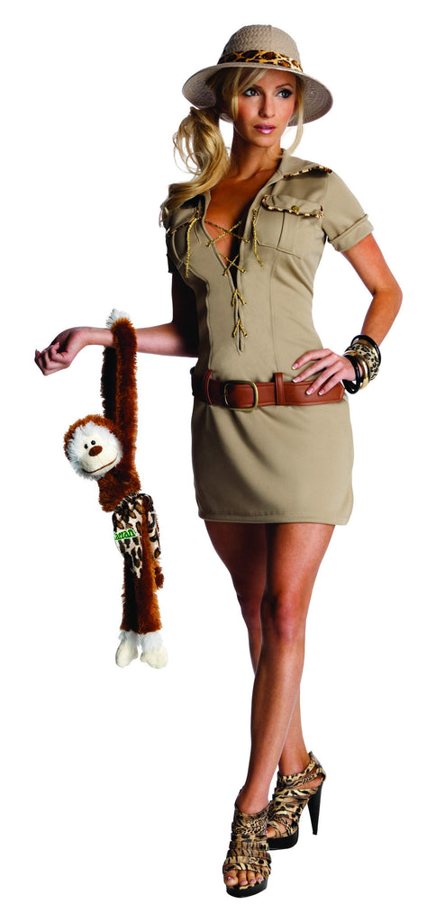 Womens/Teens Jane of the Jungle Costume - HalloweenCostumes4U.com - Adult Costumes