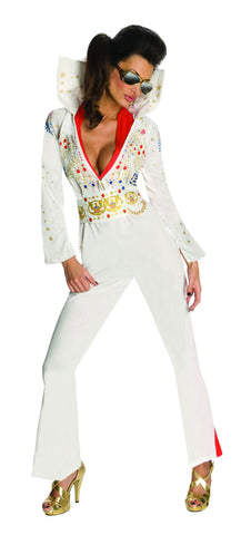 Womens/Teens Elvis Presley Costume - HalloweenCostumes4U.com - Adult Costumes