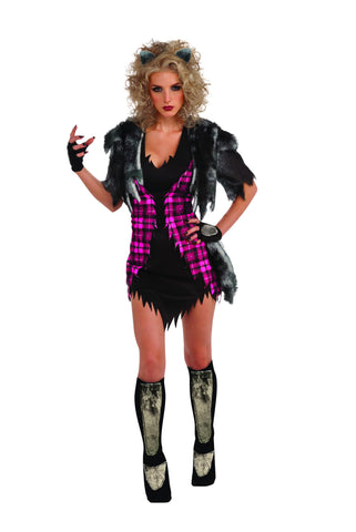 Womens She Wolf Costume - HalloweenCostumes4U.com - Adult Costumes