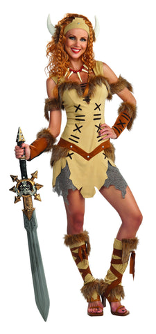 Womens Viking Princess Costume - HalloweenCostumes4U.com - Adult Costumes