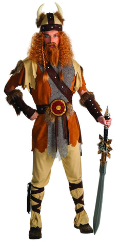 Mens Viking Warrior Costume - HalloweenCostumes4U.com - Adult Costumes