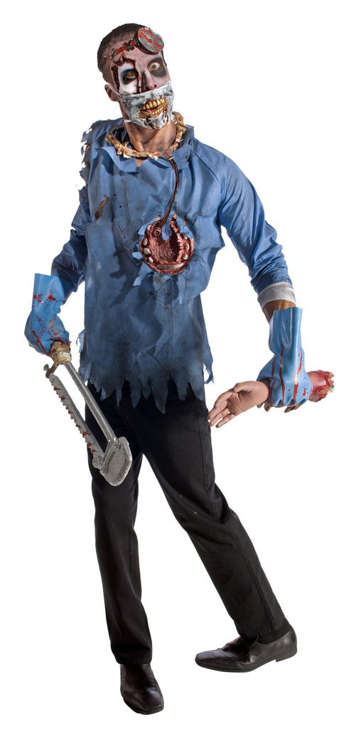Adults Zombie Doctor Costume - HalloweenCostumes4U.com - Adult Costumes  sc 1 st  Halloween Costumes 4U & Adults Zombie Doctor Costume - Halloween Costumes 4U - Adult Costumes