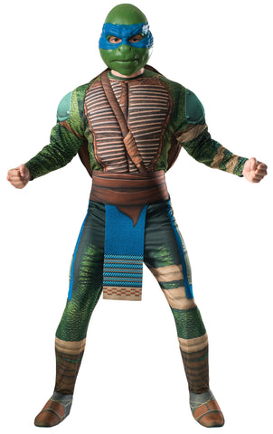 Mens Ninja Turtles Deluxe Leonardo Costume - HalloweenCostumes4U.com - Adult Costumes - 1