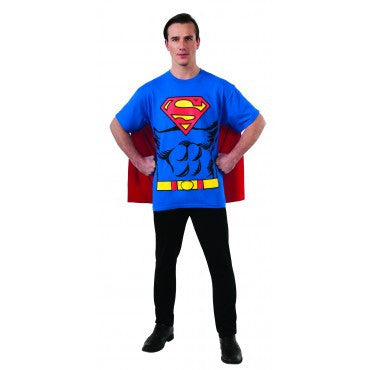 Mens Superman T-Shirt - HalloweenCostumes4U.com - Adult Costumes