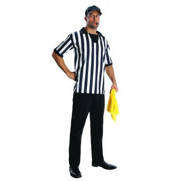Mens Referee Costume - HalloweenCostumes4U.com - Adult Costumes