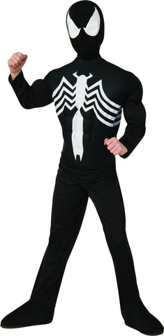 Boys Deluxe Black Spider-Man Costume