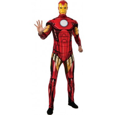 Mens Deluxe Iron Man Costume - HalloweenCostumes4U.com - Adult Costumes