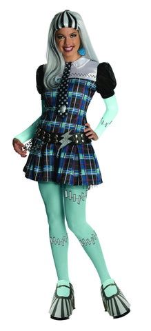 Womens/Teens Monster High Frankie Stein Costume - HalloweenCostumes4U.com - Adult Costumes