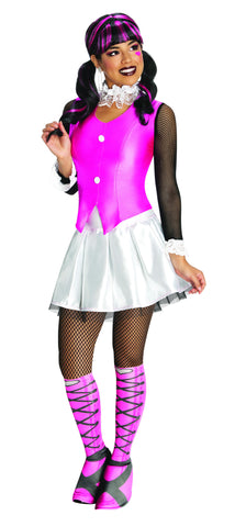 Womens/Teens Monster High Draculaura Costume - HalloweenCostumes4U.com - Adult Costumes