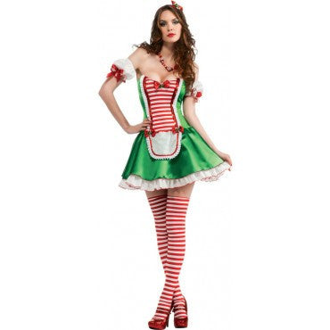 Womens/Teens Peppermint Cutie Costume - HalloweenCostumes4U.com - Adult Costumes