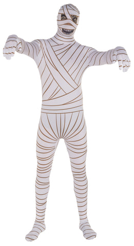 Adults Mummy Skin Suit - HalloweenCostumes4U.com - Adult Costumes