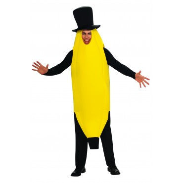 Mens Banana Costume - HalloweenCostumes4U.com - Adult Costumes