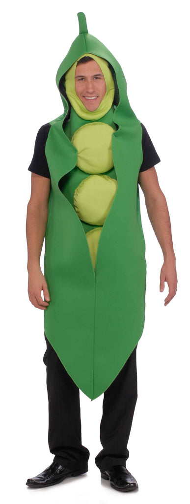 Adult Pea Pod Costume - HalloweenCostumes4U.com - Adult Costumes